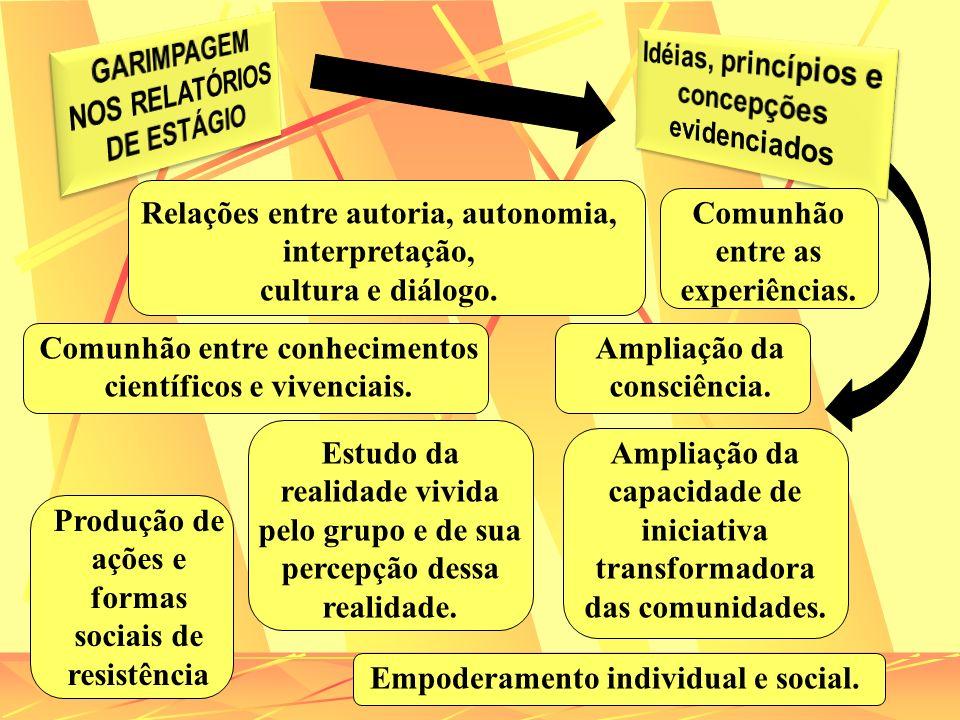 GARIMPAGEM NOS RELATÓRIOS DE ESTÁGIO
