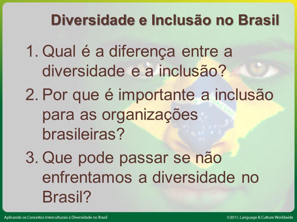 Diversidade e Inclusão no Brasil