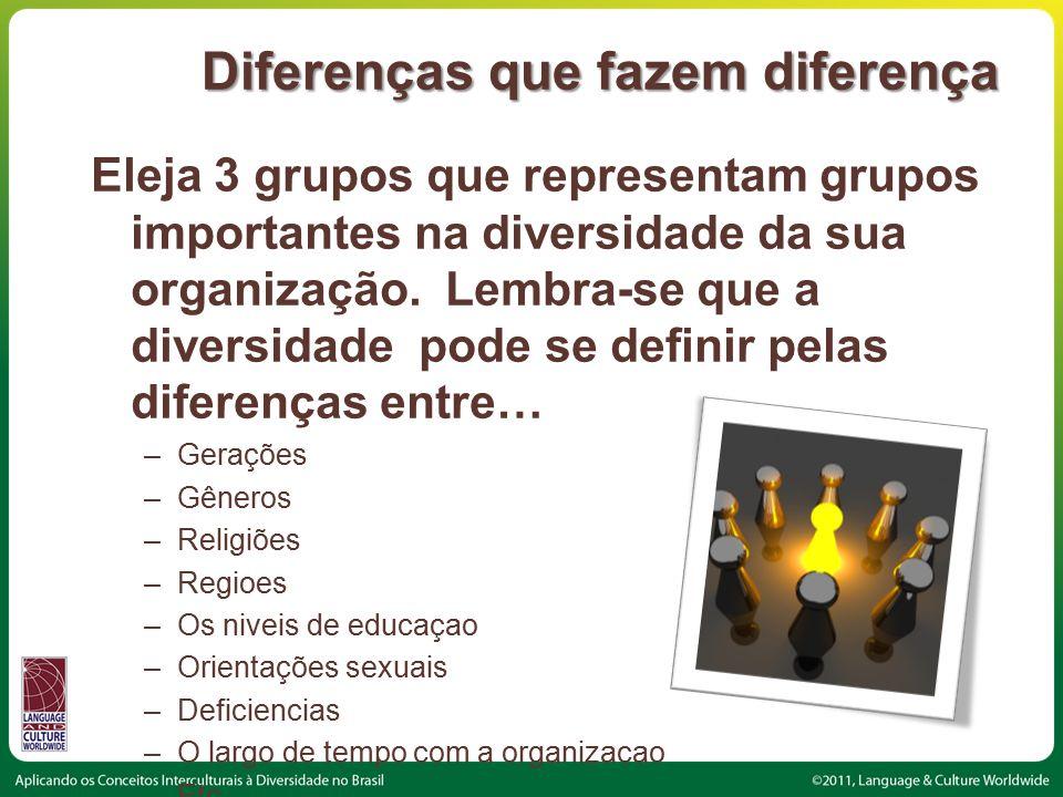 Diferenças que fazem diferença