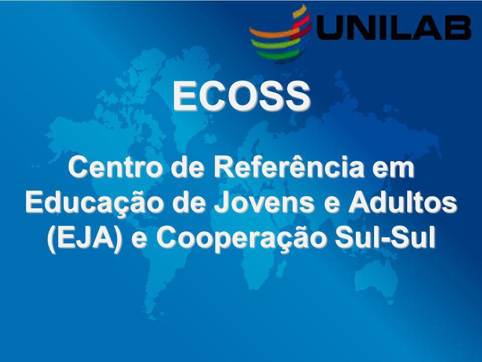 ECOSS Centro de Referência em Educação de Jovens e Adultos (EJA) e Cooperação Sul-Sul
