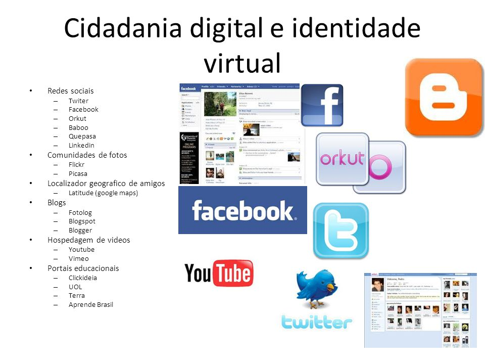 Cidadania digital e identidade virtual