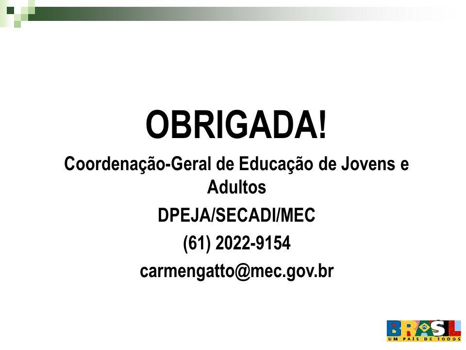 Coordenação-Geral de Educação de Jovens e Adultos
