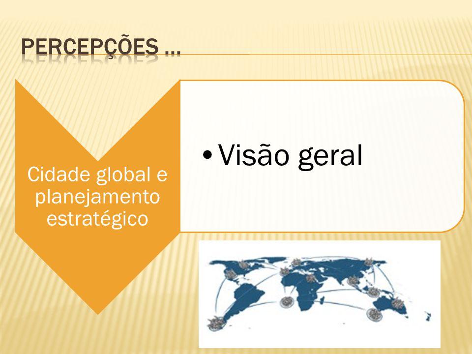 Cidade global e planejamento estratégico