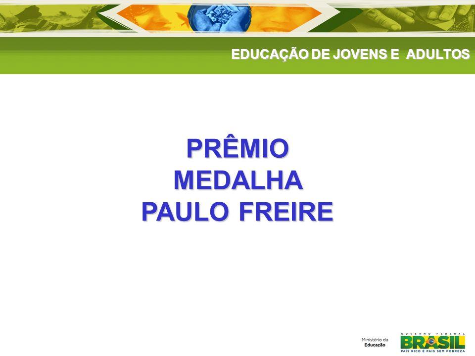 PRÊMIO MEDALHA PAULO FREIRE
