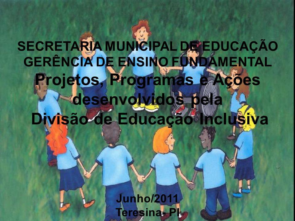 SECRETARIA MUNICIPAL DE EDUCAÇÃO GERÊNCIA DE ENSINO FUNDAMENTAL