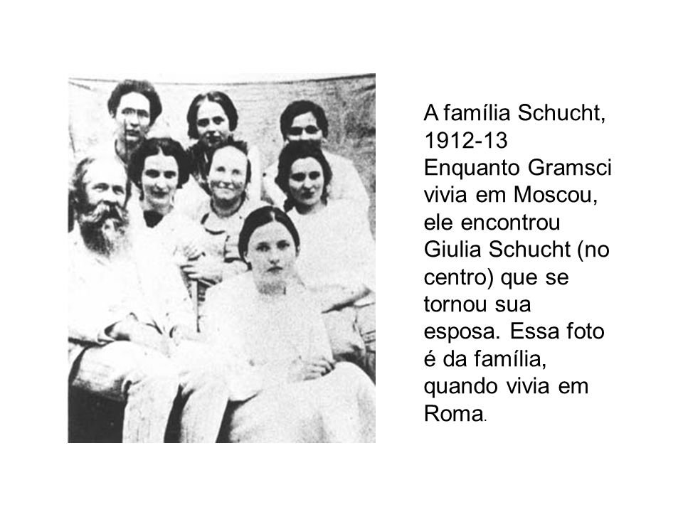 A família Schucht, 1912-13