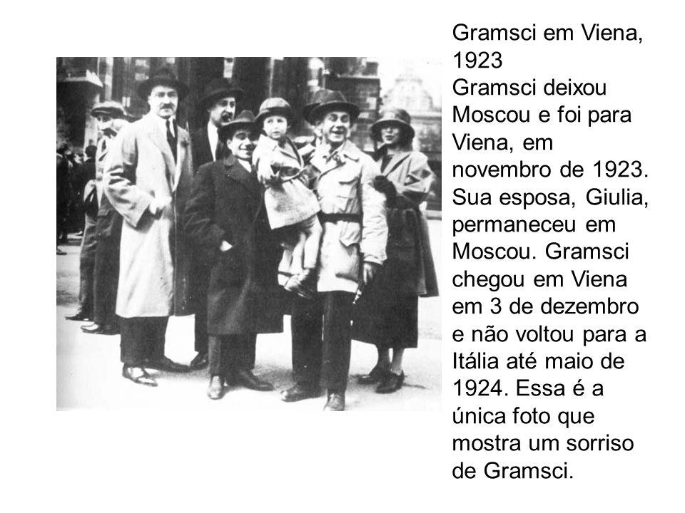 Gramsci em Viena, 1923