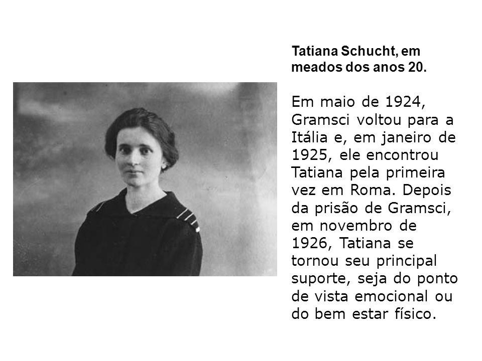 Tatiana Schucht, em meados dos anos 20.