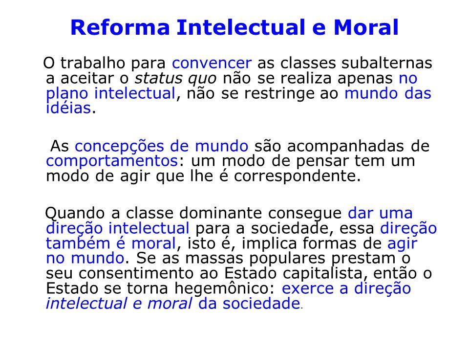Reforma Intelectual e Moral