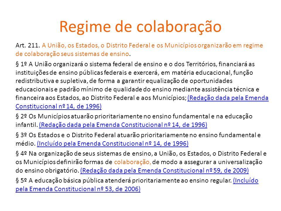 Regime de colaboração