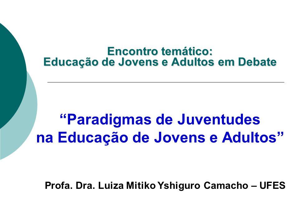 Encontro temático: Educação de Jovens e Adultos em Debate