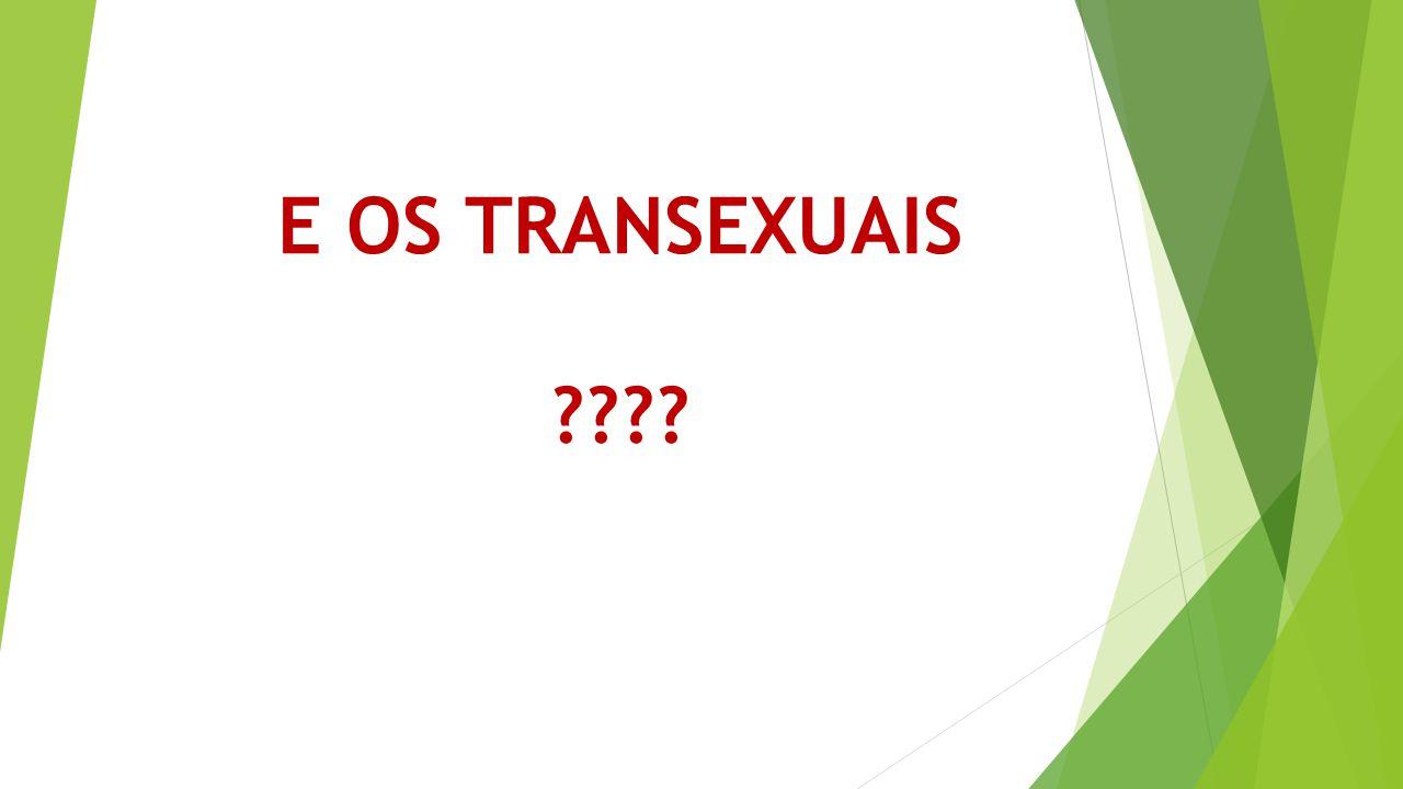 E OS TRANSEXUAIS