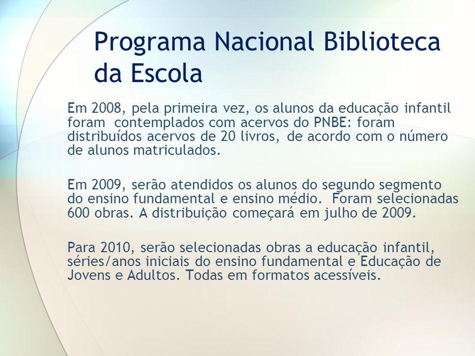 Programa Nacional Biblioteca da Escola