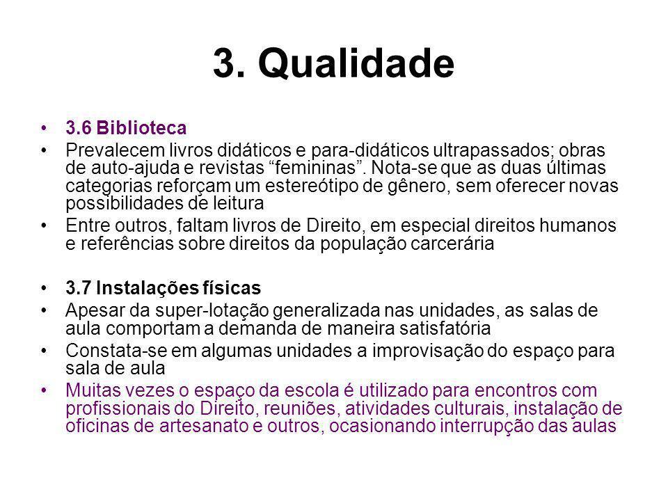 3. Qualidade 3.6 Biblioteca.