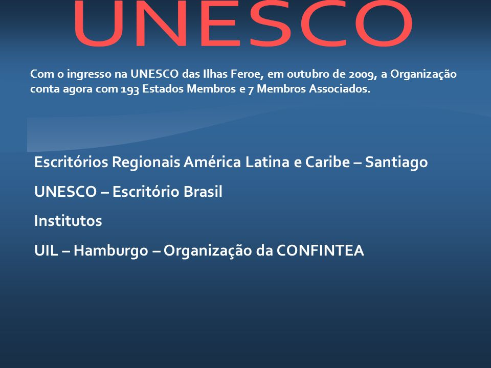 Escritórios Regionais América Latina e Caribe – Santiago