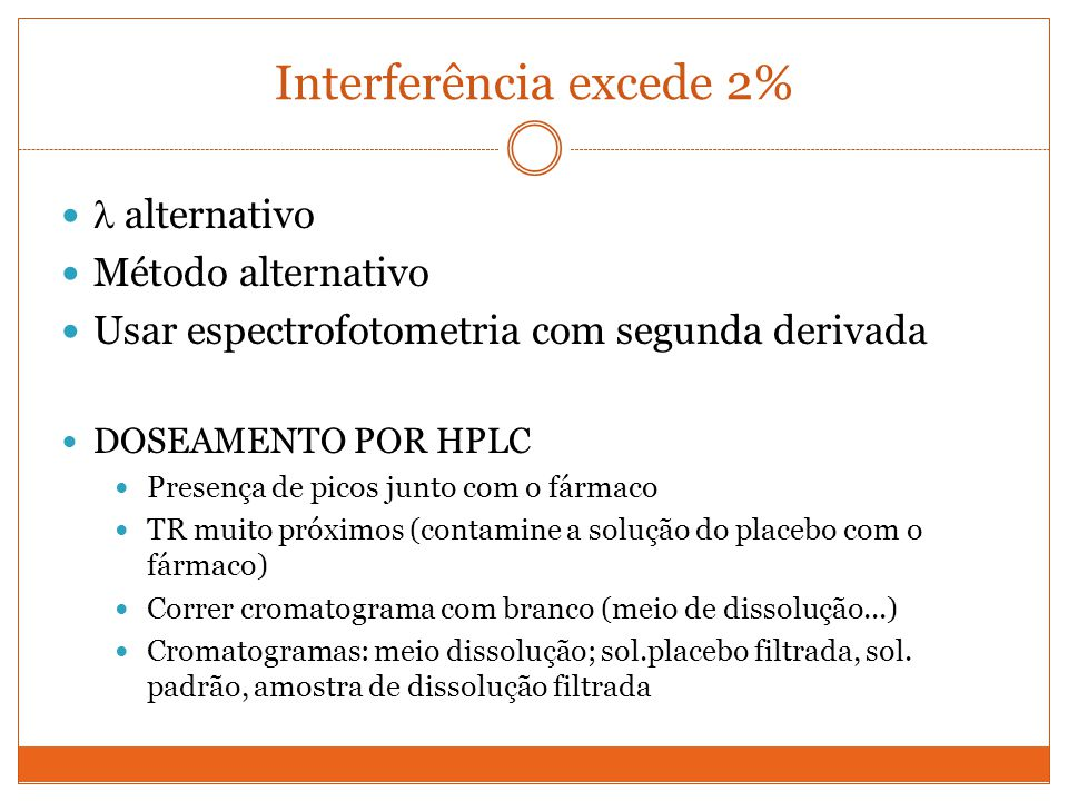 Interferência excede 2%