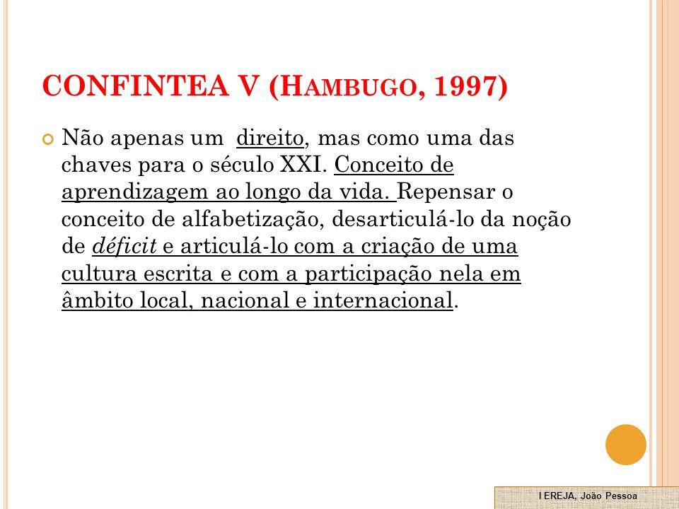 CONFINTEA V (Hambugo, 1997)