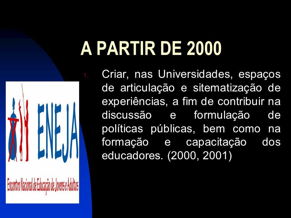 A PARTIR DE 2000