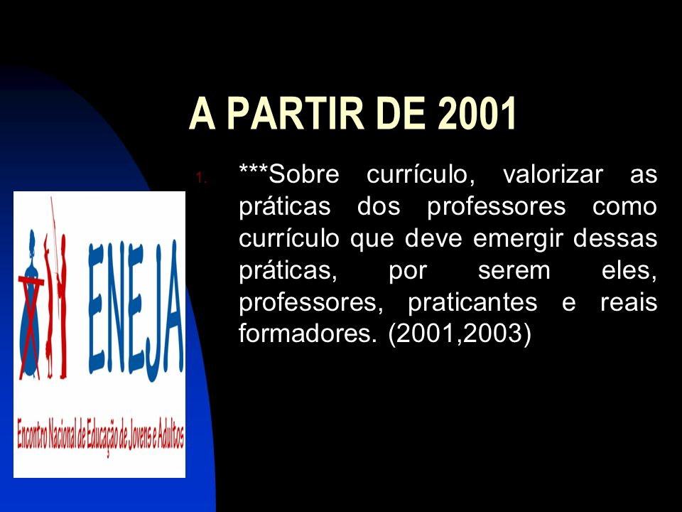 A PARTIR DE 2001