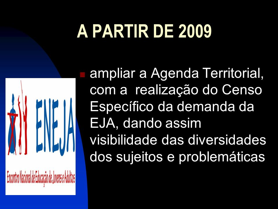 A PARTIR DE 2009