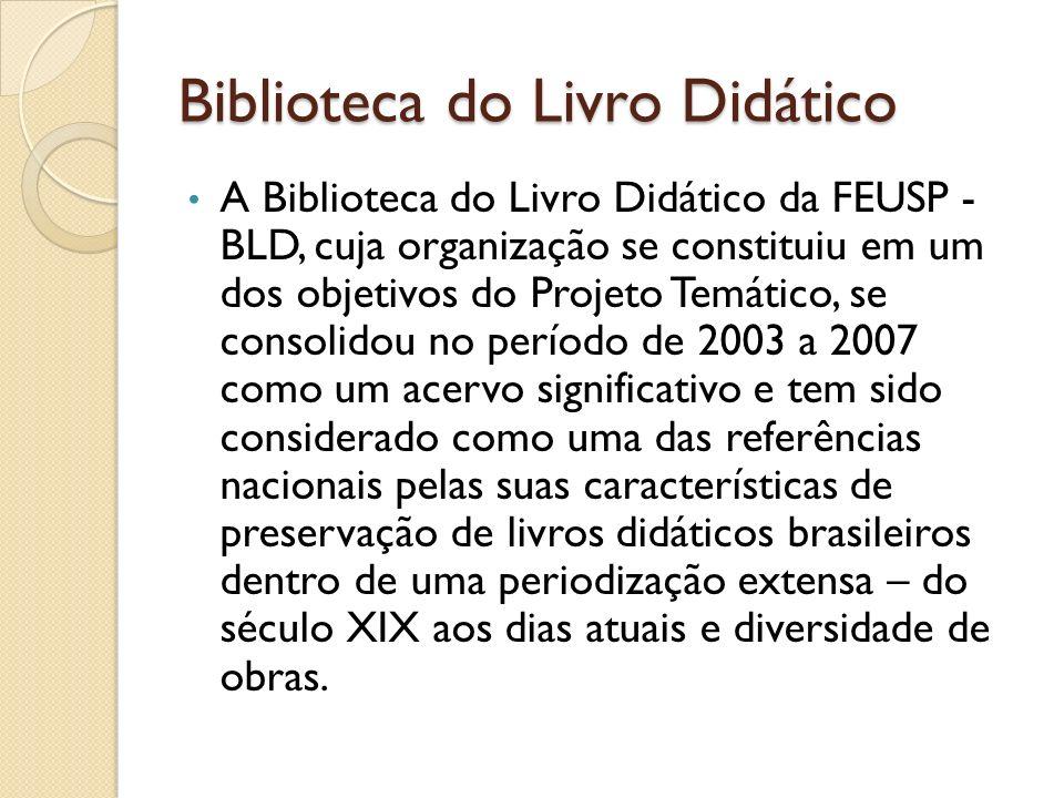 Biblioteca do Livro Didático