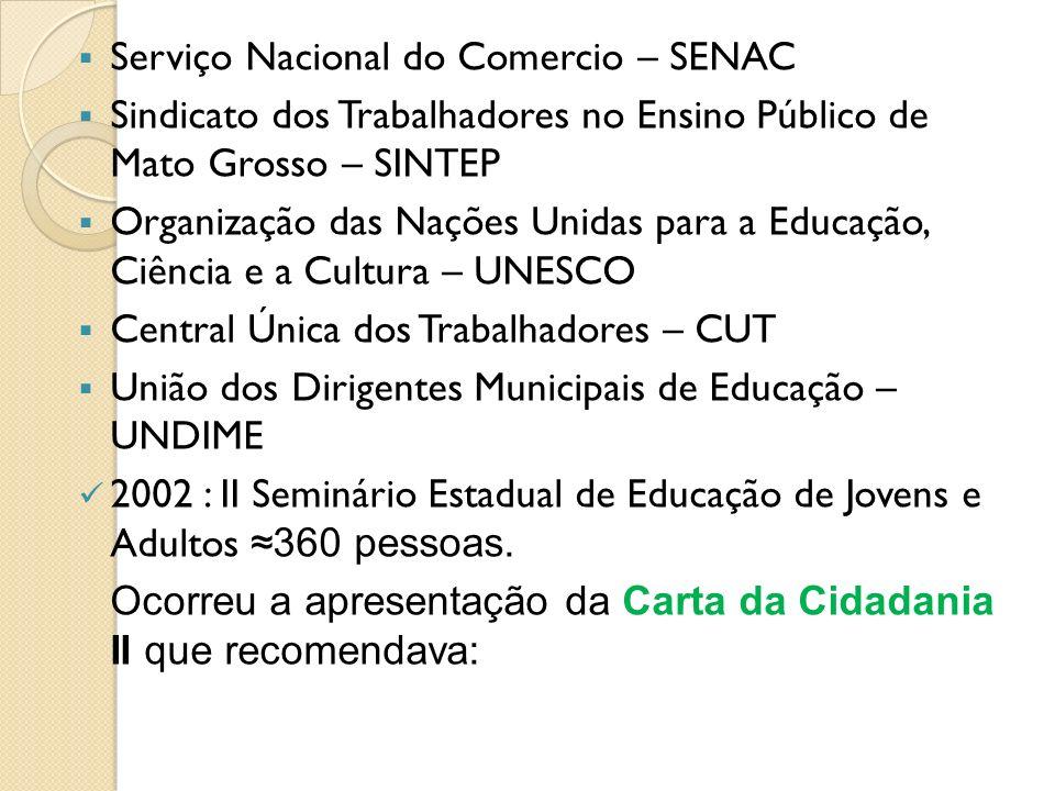 Serviço Nacional do Comercio – SENAC