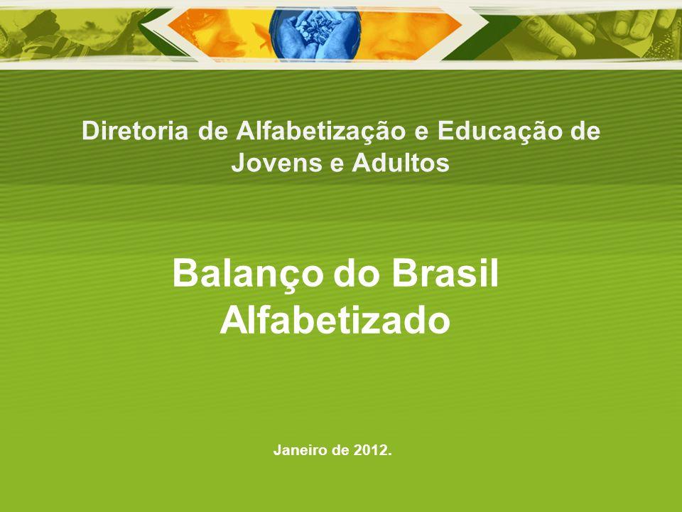 Diretoria de Alfabetização e Educação de Jovens e Adultos