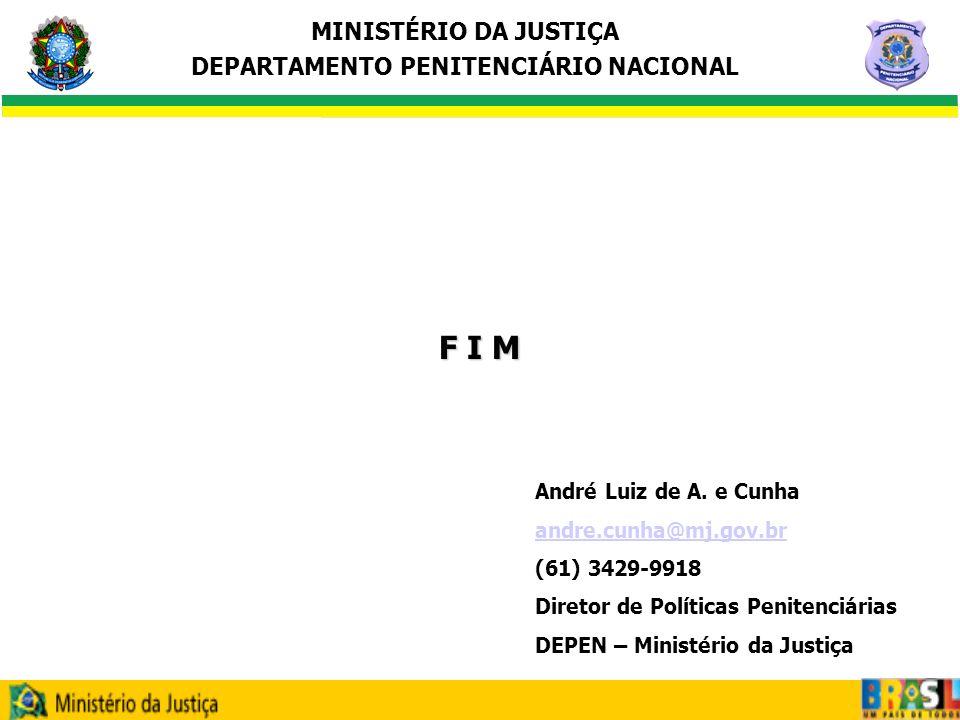 F I M André Luiz de A. e Cunha andre.cunha@mj.gov.br (61) 3429-9918