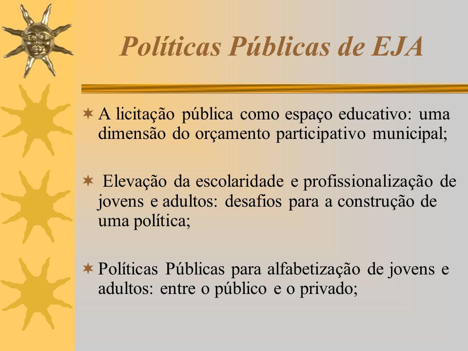 Políticas Públicas de EJA