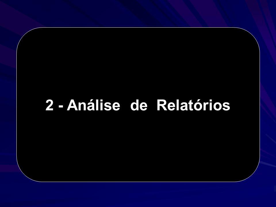2 - Análise de Relatórios