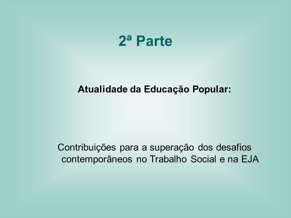 Atualidade da Educação Popular: