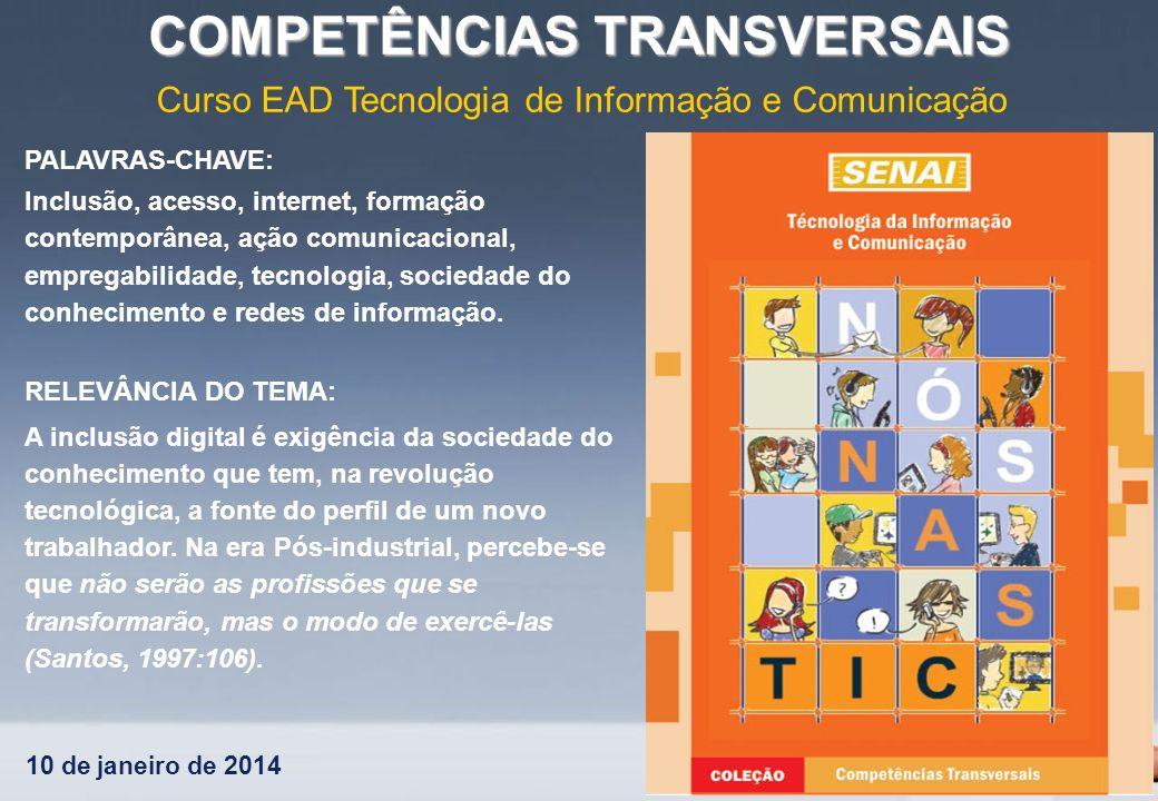 Curso EAD Tecnologia de Informação e Comunicação