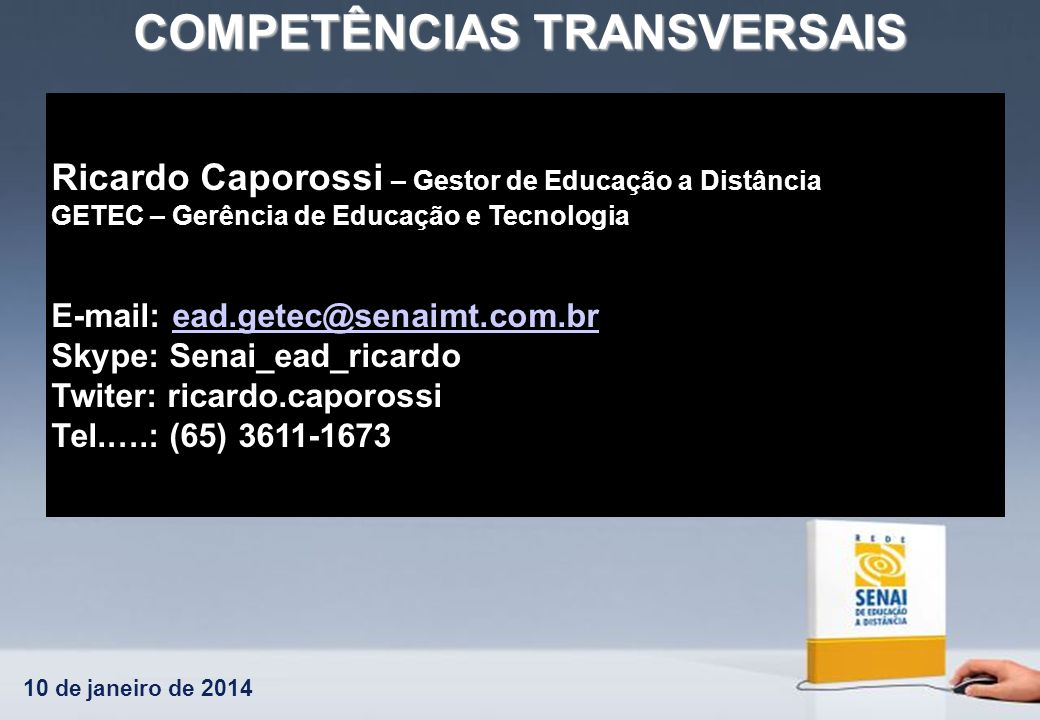Ricardo Caporossi – Gestor de Educação a Distância