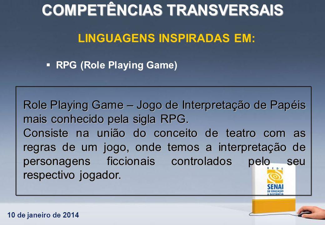 LINGUAGENS INSPIRADAS EM: