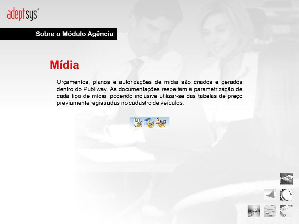 Mídia Sobre o Módulo Agência