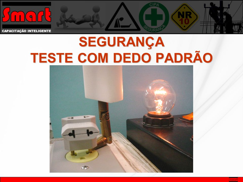SEGURANÇA TESTE COM DEDO PADRÃO