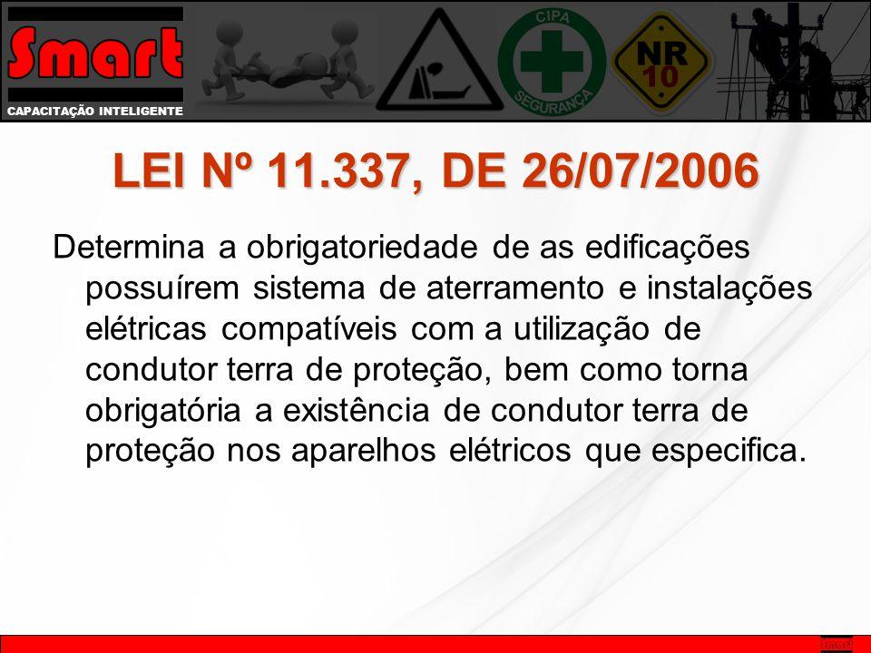 LEI Nº 11.337, DE 26/07/2006