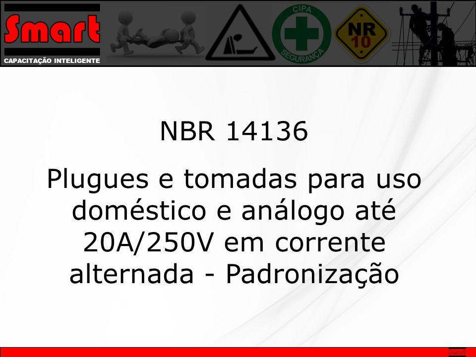 NBR 14136 Plugues e tomadas para uso doméstico e análogo até 20A/250V em corrente alternada - Padronização.