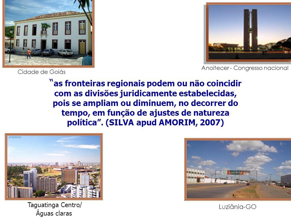 Cidade de GoiásAnoitecer - Congresso nacional.