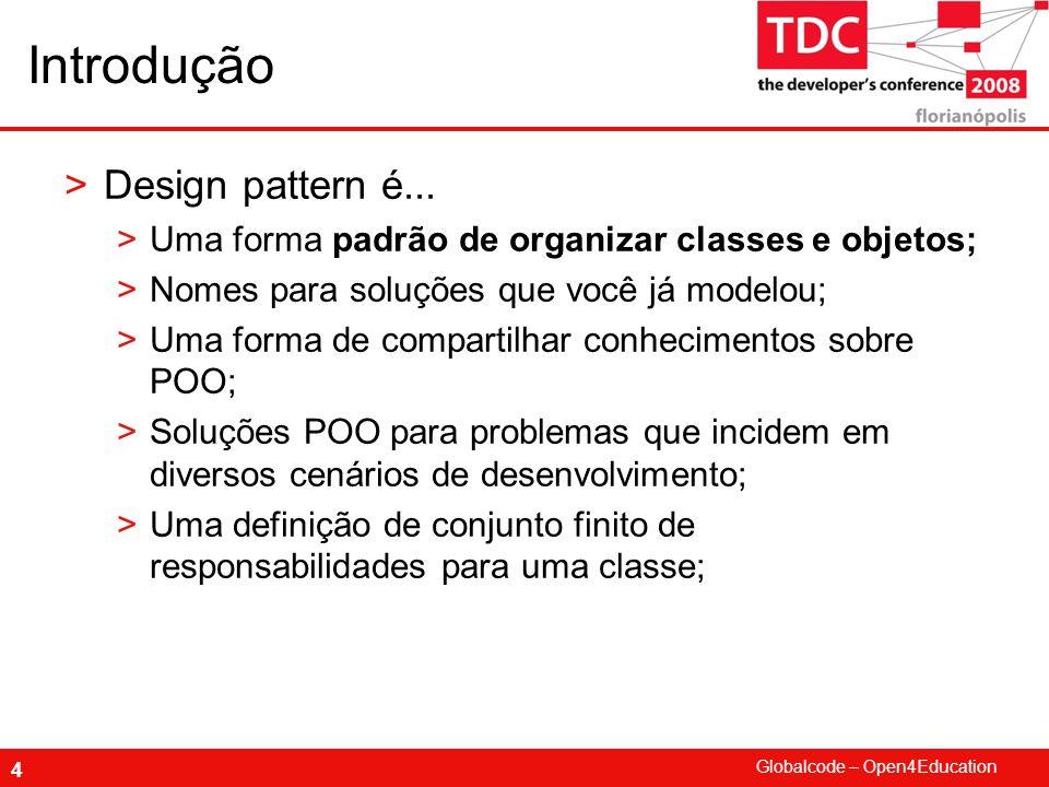 Introdução Design pattern é...