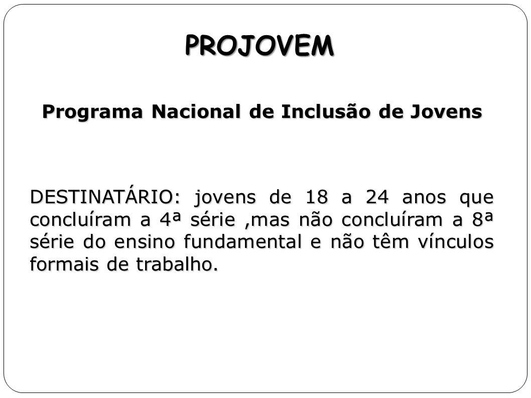 Programa Nacional de Inclusão de Jovens