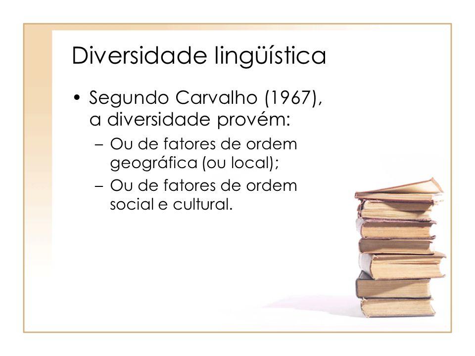 Diversidade lingüística