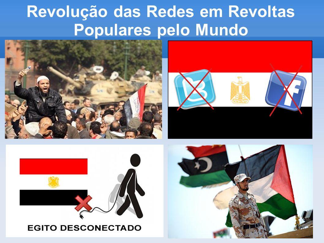 Revolução das Redes em Revoltas Populares pelo Mundo