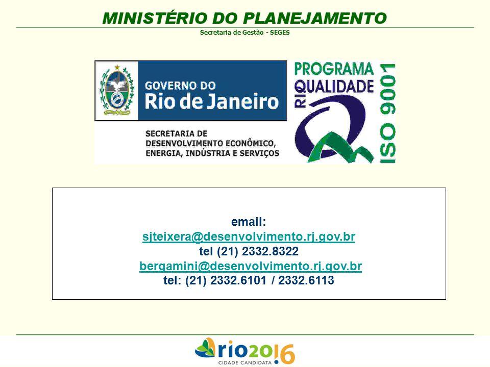 email: sjteixera@desenvolvimento.rj.gov.br. tel (21) 2332.8322. bergamini@desenvolvimento.rj.gov.br.