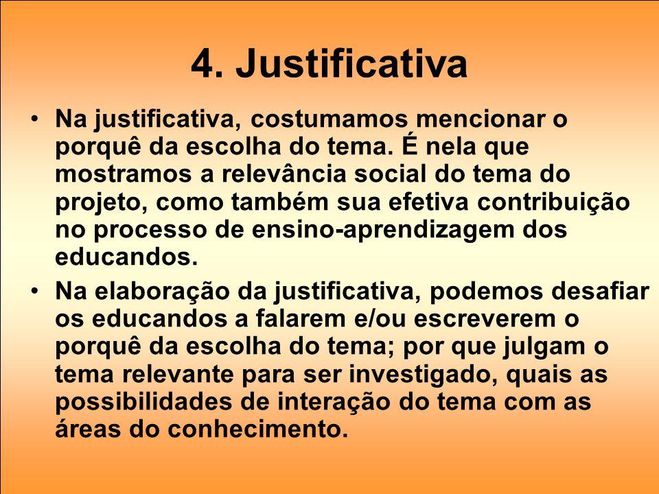 4. Justificativa