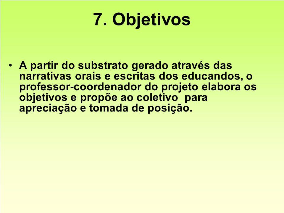 7. Objetivos