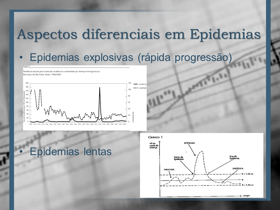 Aspectos diferenciais em Epidemias