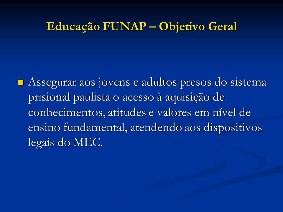Educação FUNAP – Objetivo Geral