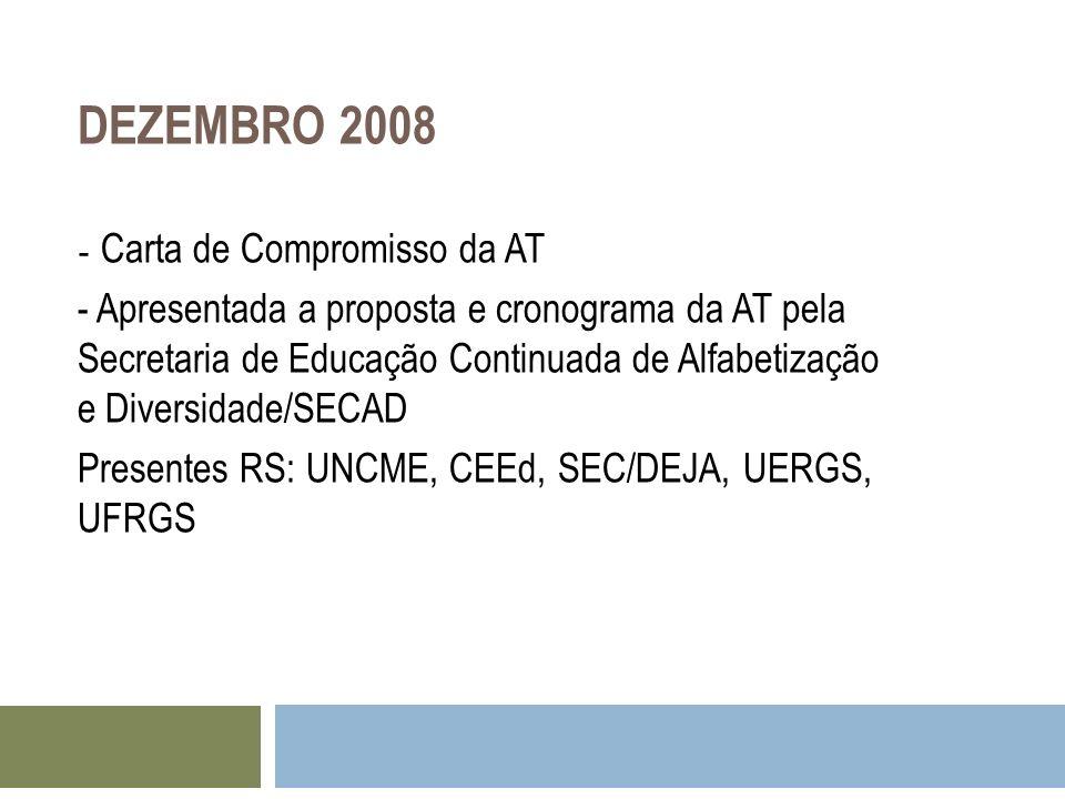 DEZEMBRO 2008 - Carta de Compromisso da AT.