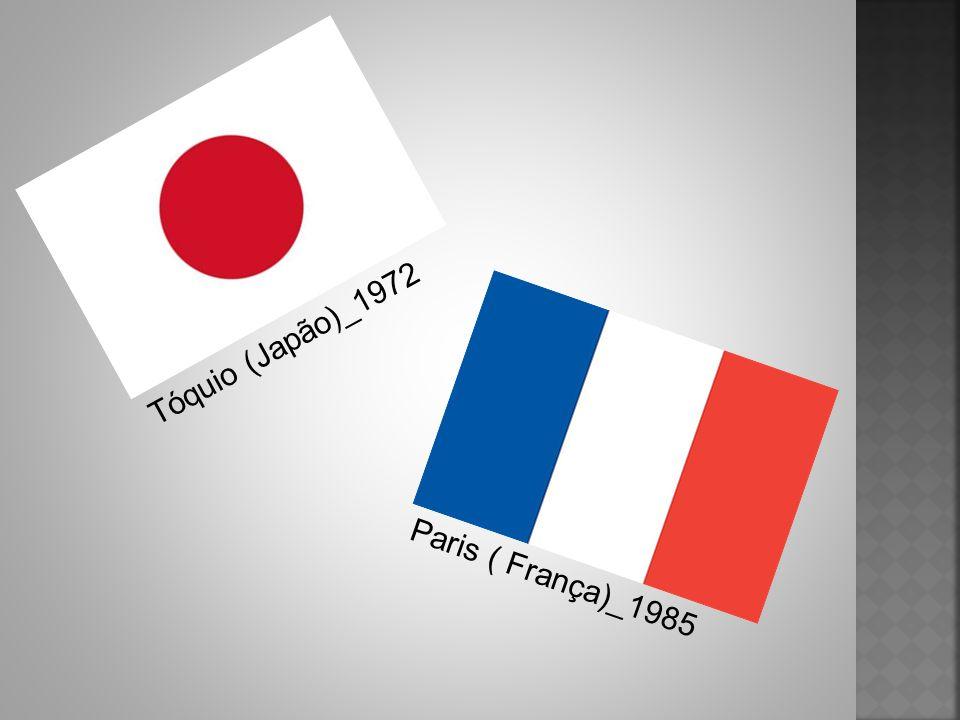Tóquio (Japão)_1972 Paris ( França)_1985